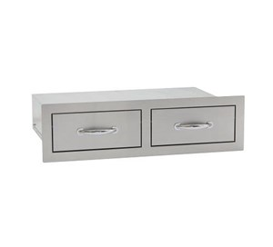 SUMMERSET DOUBLE HORIZONTAL DRAWER SSHDR-2