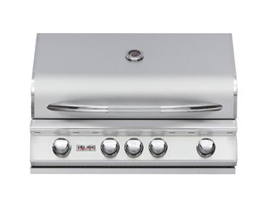 DELSOL 32″ Outdoor Built in Gas Grill with Infrared Rotisserie Burner DSBQ32R