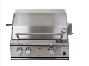 ProFire Professional Series 27-Inch Built-In  Gas Grill With Rotisserie - PF27R