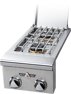 Delta Heat  Double Side Burner - DHSB2-C