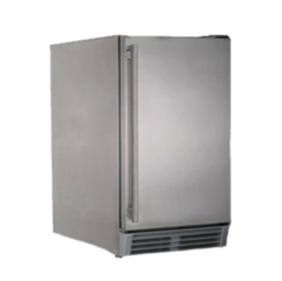 RCS UL RATED STAINLESS STEEL OUTDOOR RATED ICE MAKER REFR3