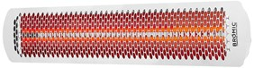 Bromic Heating Tungsten Smart-Heat 56-Inch 6000W Dual Element 240V Electric Infrared Patio Heater - White - BH0420013
