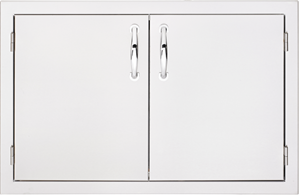 SUMMERSET 30 INCH DOUBLE DOORS SSDD-30