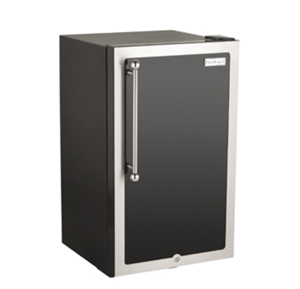 FireMagic BLACK DIAMOND BLACK DIAMOND REFRIGERATOR RIGHT HINGED DOOR 3590H-DR