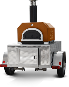 Chicago Brick Oven CBO-750 Tailgate Trailer