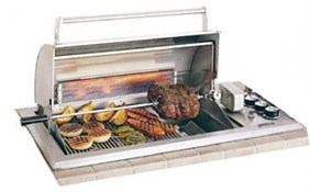 Fire Magic Legacy Regal I Propane Gas Countertop Grill w/Rotiserrie & Backburner 34-S2S1P-A