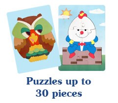 Puzzles up to 30 pieces