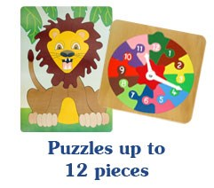 Puzzles up to 12 pieces
