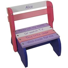 Purple Kindy Chair