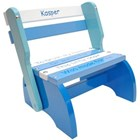 3 Blue & White Kindy Chair