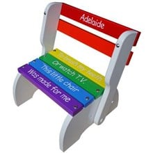 Rainbow Kindy Chair