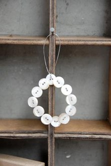 Button hanger - circle