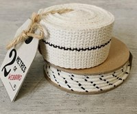 Cream cord or webbing