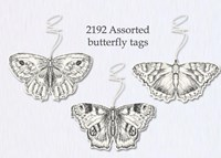 Butterfly Tags - Set 3