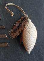 Pine Cone wooden