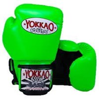 "Yokkao ""Basic"" Muay Thai Gloves- Fluro Green"