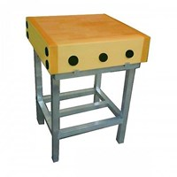 Butchers Block 2ft by 2ft and Stand
