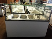 Bain Marie Serve Over Counter Display 180cm