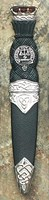 Sgian Dubh - Clan Crested