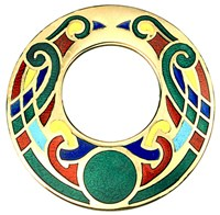 TG1006C - Celtic Brooch