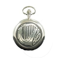 Mechanical Harp Pocket Watch