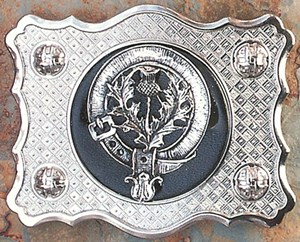 Scottish Belt Buckle