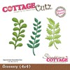 Cottage Cutz Die Greenery (4x4)