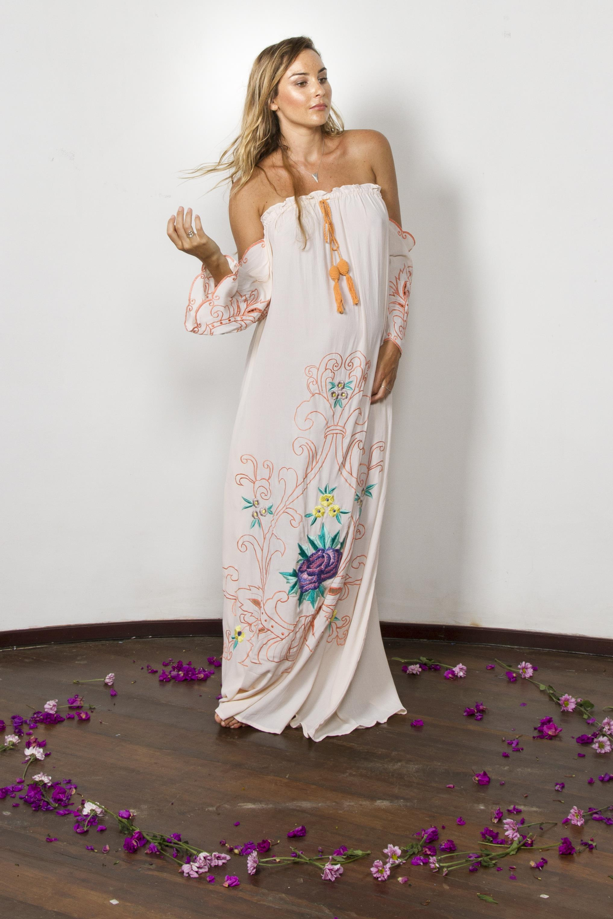 City of angels off the shoulder maxi dress in peach fillyboo city of angels off the shoulder maxi dress in peach ombrellifo Image collections