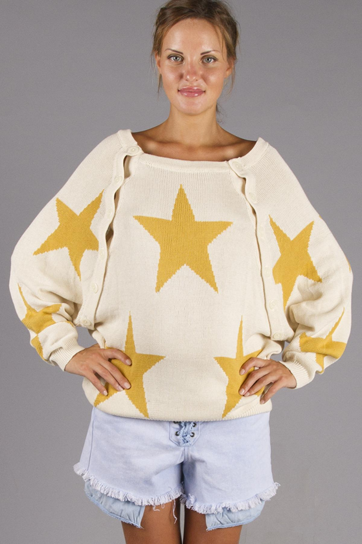 Knitting Pattern Nursing Sweater :