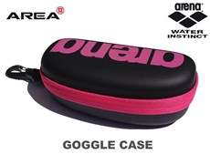 ARENA GOGGLE CASE - HOT PINK & BLACK