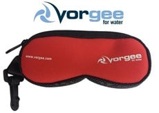 VORGEE GOGGLE POUCH RED