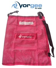 VORGEE Mesh Swim Equipment Bag Hot Pink