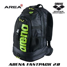 ARENA FASTPACK 2.0 SWIMMING BACKPACK - GREEN