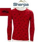 Sherpa Kids Polypropylene Thermal Underwear - Long Sleeve Top (Red Ants) 2-12