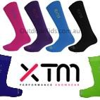 XTM Kids Heater Merino Blend Thermal Ski Socks (Twin Pack/2 pair)  SIZE 5-8