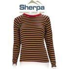 Sherpa Kids Polypropylene Thermal Underwear L/S Top (Rainbow Stripe) 2-12