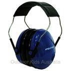 *FREE STORAGE TOTE** Peltor Junior Hearing Protection Ear Muffs for Youth - Blue (NRR 22dB)