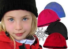 OKco Milkshake Kids Lined Winter Ski Beanie (3-7yrs)