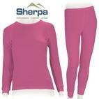 Sherpa Kids Polypropylene Thermals Set (Dusty Pink) 2-12