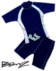 Banz UV Swimwear - Boys Rashy & Shorts Set (Navy) *CLEARANCE*