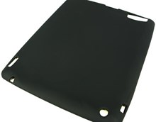 Apple iPAD 2 Protective Silicone Skin Case / High Quality / Black