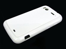 HTC Sensation XE FlexiShield Protective Gel Skin Case / White - TPU