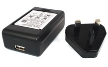 Genuine Sony Ericsson BST-33 Battery + AC USB Powered Desktop Charger Pack with FREE USB Cable - BST33