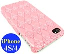 iPhone 4S & iPhone 4 Hard Back Case / Pink