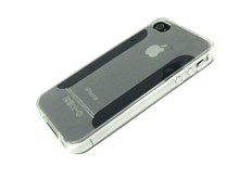 iPhone 4S & iPhone 4 FlexiShield Skin Case / Transparent / Plain Pattern New