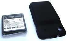 Samsung Galaxy S GT- i9000 Extended Battery 3000mAh with Free Back Cover / EB575152VU / Replacement