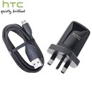 Original HTC TC-B250 USB Power Adapter with DC-M410 USB Cable / UK Plug