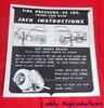 1957 Cadillac Jack Instructions
