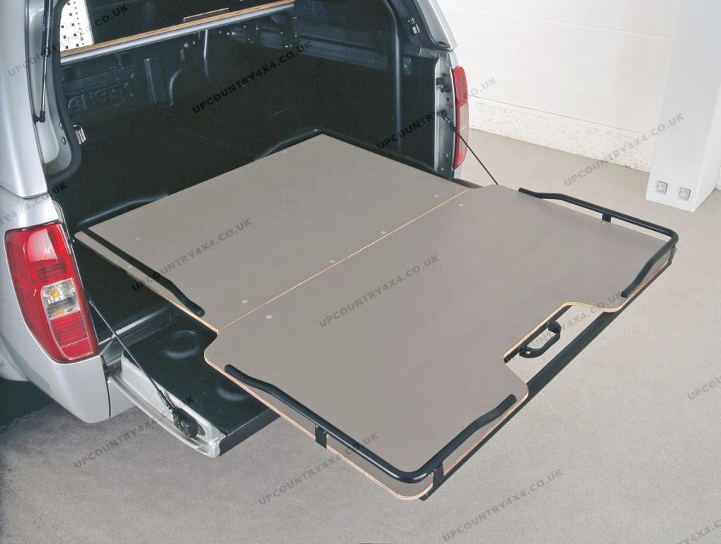 Antec Sliding Cargo Tray Ford Ranger T6 Double Cab Up
