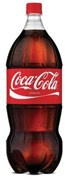 COCA-COLA  2 LITER BOTTLE